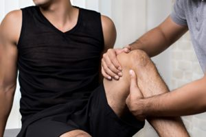 one-on-one physiotherapy treatment