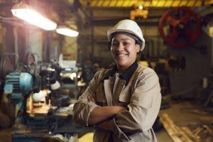 Female labourer