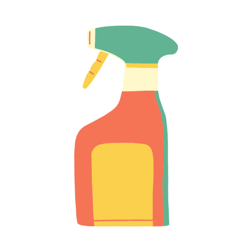 Frequent cleaning and disinfecting of areas